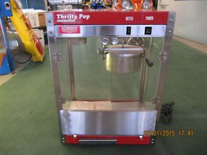 GMI Industries Model TP-6 Thrifty Popcorn Machine In Excellent Condition!  Solid Metal Construction.  Made In USA.  Only $449.