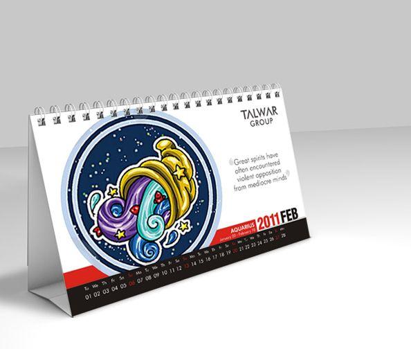 Talwar Group - Table Calendar