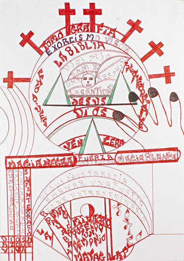 ART BRUT / collection ABCD :: BRIZUELA anibal