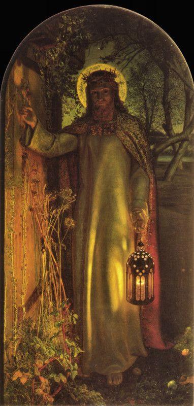 """The Light of the World""  William Holman Hunt"