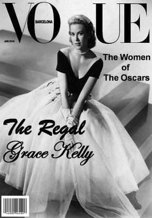 Grace Kelly cover of Vogue