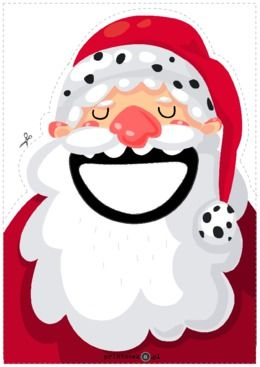 Hungry Santa Claus - Printoteka.pl