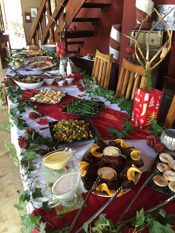 Christmas lunch for guests @SibuyaGameRes Bush Lodge Kenton on Sea, Eastern Cape, South Africa http://www.sibuya.co.za