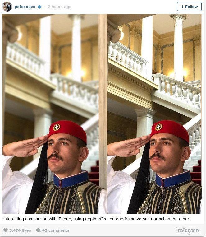 Ο Pete Souza είναι ο διευθυντής του φωτογραφικού τμήματος του Λευκού Οίκου για λογαριασμό του προέδρου Ομπάμα και τον συνοδεύει στο επίσημο ταξίδι του σε Ελλάδα και Ευρώπη που είναι και το τελευταίο του ως πλανητάρχης.