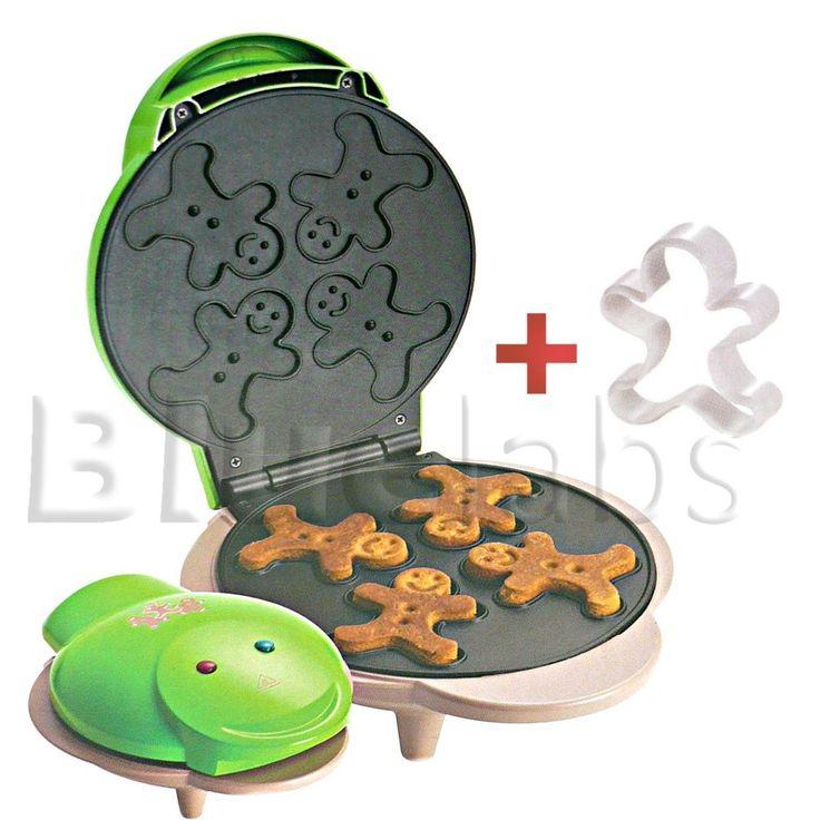 Gingerbread Ginger Bread Man Maker Mold Shape Cookies Biscuits Baker Cutter Pan