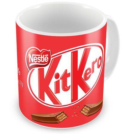 Caneca Personalizada Mensagem Chocolate Kit Kero                                                                                                                                                                                 Mais