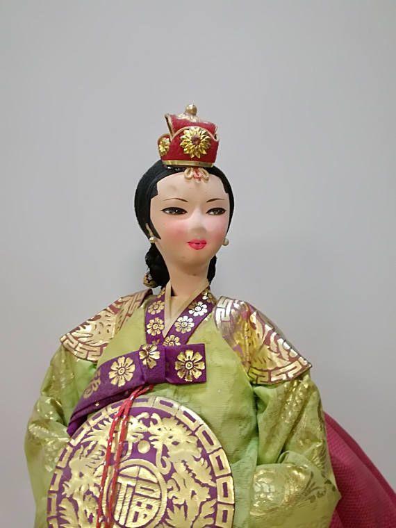 Bambola souvenir-principessa cinese-sposa cinese-bambola