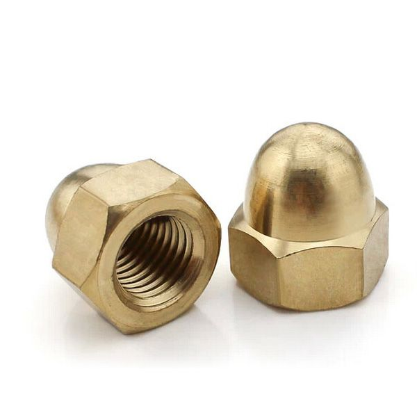 Acorn Nuts Also Known As Cap Nuts Feature A Domed Fastener Head Which Protects Screws And Bolts From Stripping Allowing For Re Screws And Bolts Bronze Brass