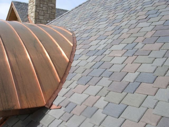 Home Improvement   Faux Slate Shingles Roofs