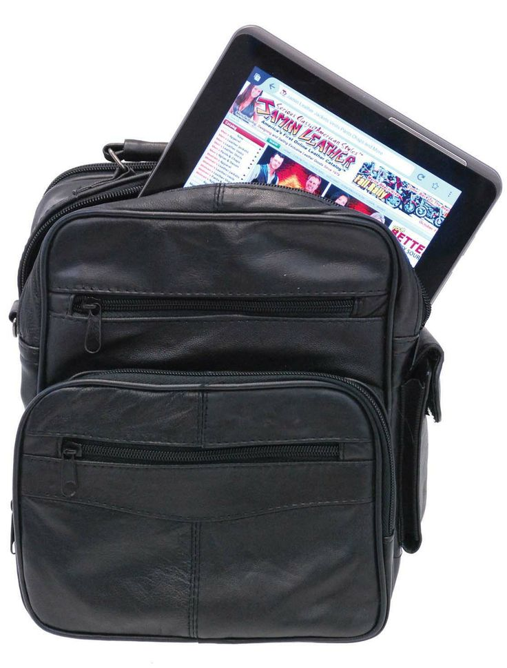 Large iPad Case with Organizer Front Pocket