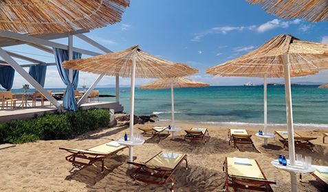 Crystal clear waters and a sandy #beach are here to help you beat the heat at #Divani Apollon Palace & Thalasso.