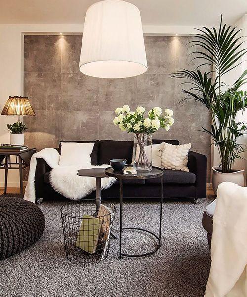 Серый-диван-белый-текстиль