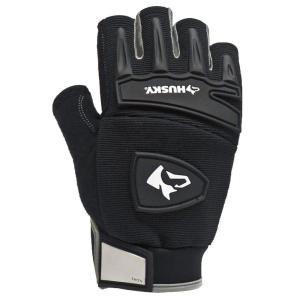 Husky Medium Fingerless Mechanics Glove-67122-16 at The Home Depot