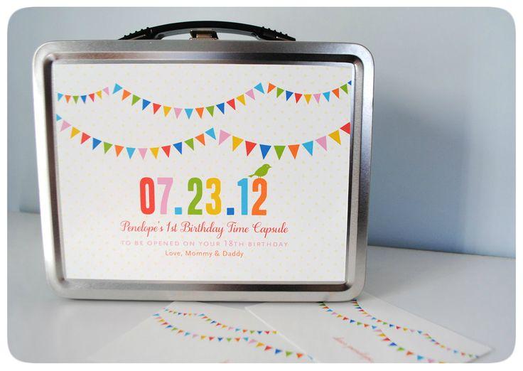 Czas Glam Mam: Urodzinowa kapsuła czasu, czyli pomysł na zachowanie wspomnień z pierwszych urodzin dziecka