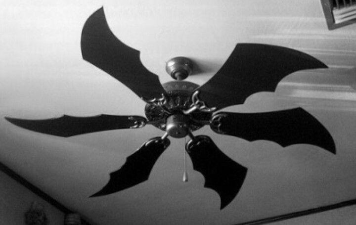 Bat Wings Ceiling Fan Goth Home Decor