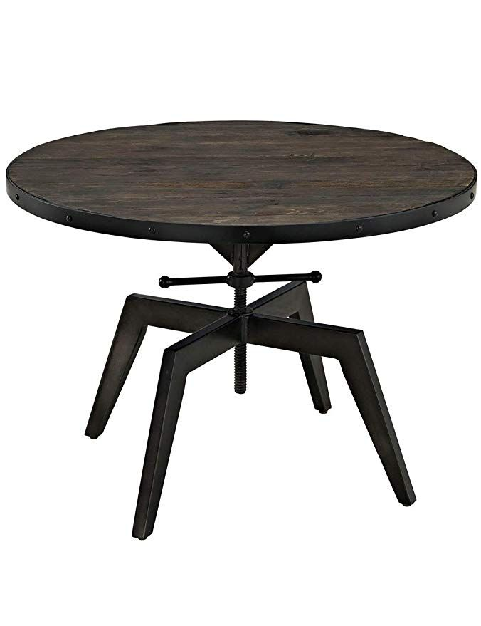 Amazon Com Living Room Wrought Iron Coffee Table Solid Wood Side Table Retro Home Small Table Iron Coffee Table Solid Wood Coffee Table Solid Wood Side Table