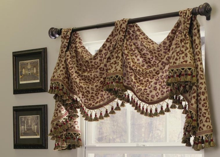 17 best images about drapes window treatments on for Animal print window treatments