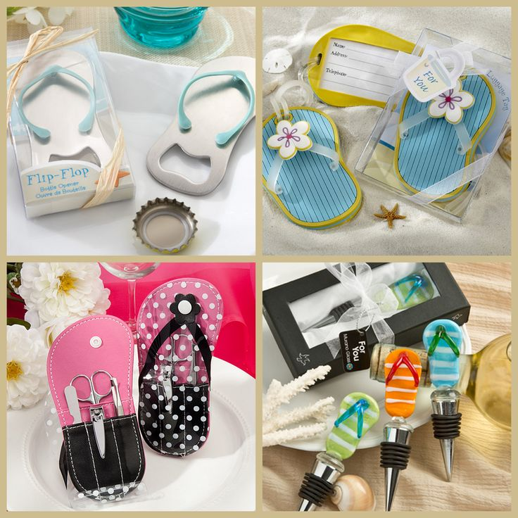 Flip Flop Party Favors from HotRef.com