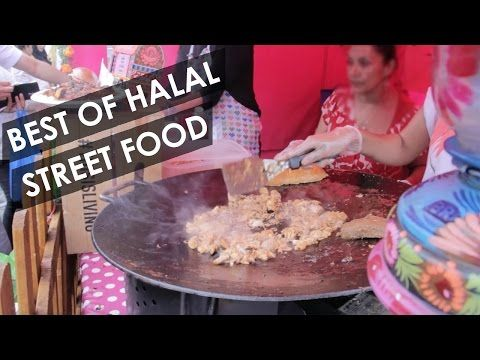 Street food at London Halal Food Festival - ep2 - YouTube