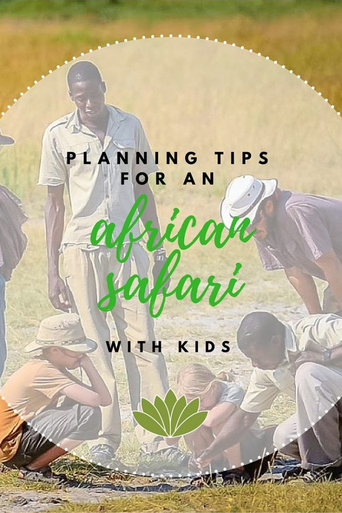 Planning an African safari with kids can be overwhelming. Get started with answers to some of the top questions parents have.
