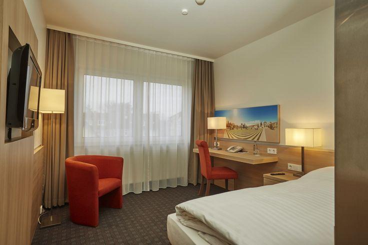 Eines der Business EZ im H+ Hotel Darmstadt