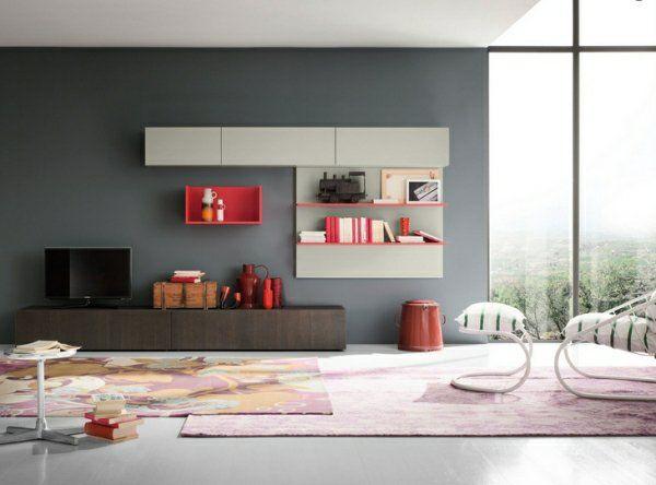 salon avec meuble télé moderne