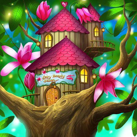 Faerie Island junior novel. Fairy Beauty Salon.