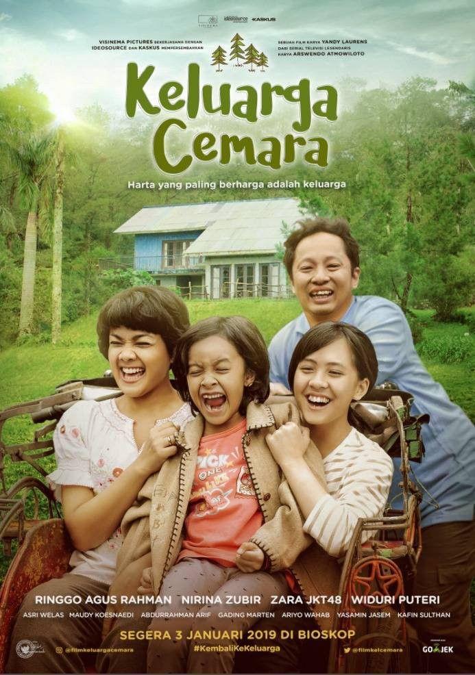 Lirik Lagu Keluarga Cemara : lirik, keluarga, cemara, Keluarga, Cemara, Affiche, Film,, Cover