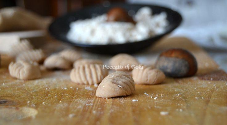 Gnocchi con farina di castagne, ricetta di base