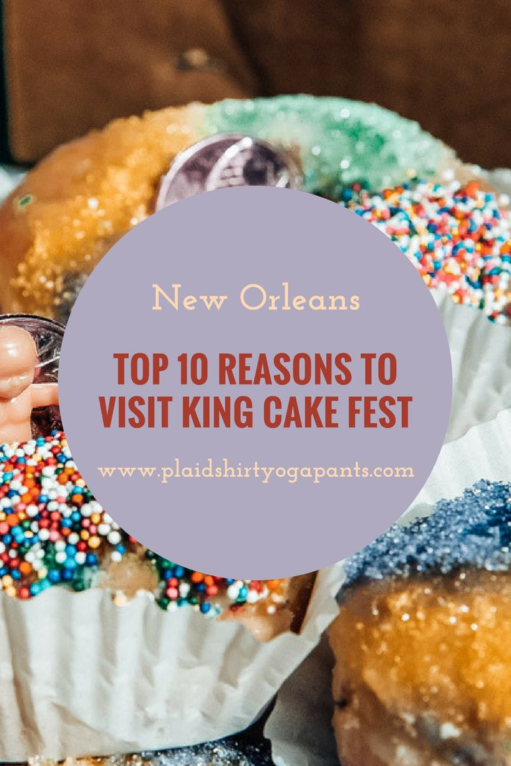 Seasonal Affective Disorder affects all New Orleanians until the Mardi Gras Season starts on January 6th. We stuff our face with King Cake, and what better way to experience this treat than at the annual King Cake Festival in Champions Square. Click to read the top 10 reasons why you should go to King Cake Fest.