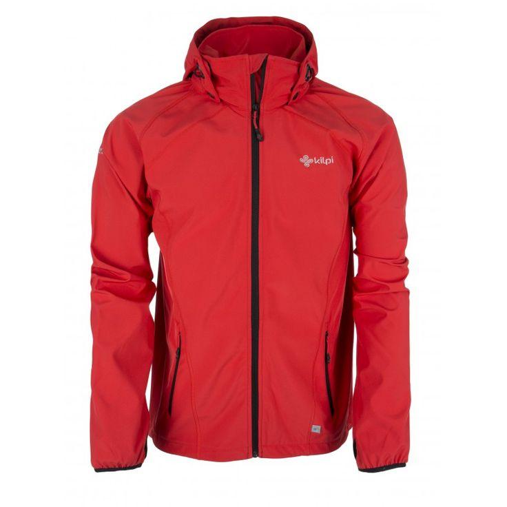 Men's softshell jacket KILPI - TADDEO - red