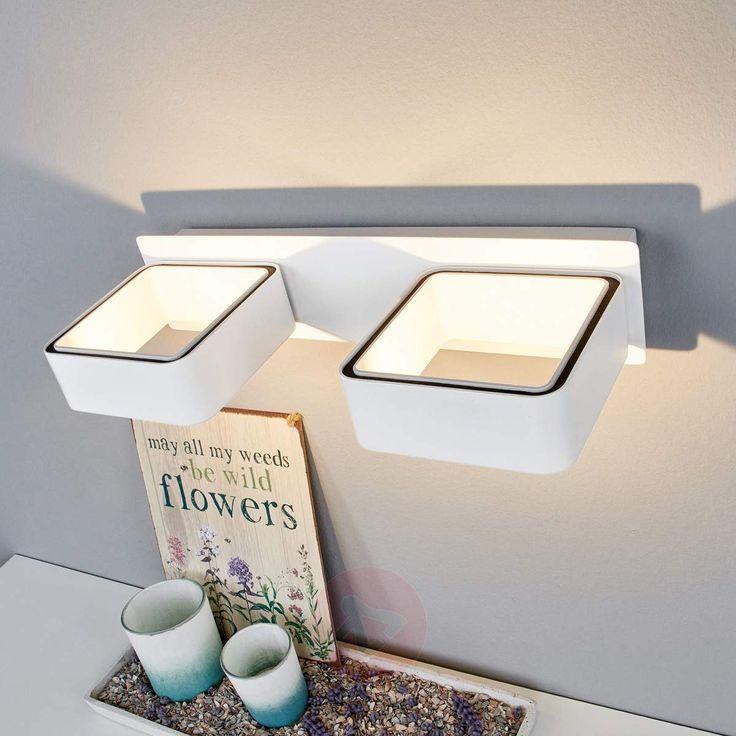 Minimalistisch, Futuristisch, Modern: LED Wandleuchte Zur Beleuchtung  Moderner Einrichtungsstile. #Minimalismus