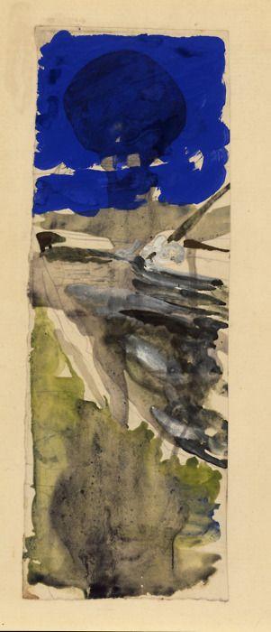 'Bug der Argo' (1951-52) by German artist Joseph Beuys (1921-1986). ty Branch…