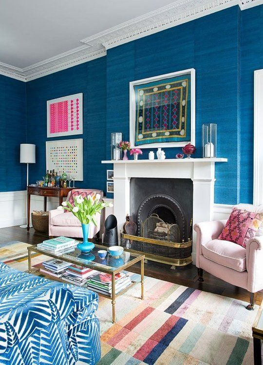 Jessica's Unbelievably Chic (and Colorful!) Edinburgh Flat — House Call | Apartment Therapy: