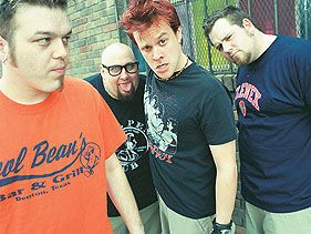 Bowling for Soup!! Some of my favorite guys back in the early days!!