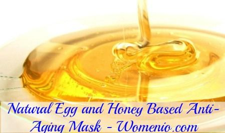 Egg and Honey Based Anti-Aging Mask.  1 egg yolk • 1 tablespoon pure honey • 1 tablespoon yogurt – plain yogurt works best • ½ teaspoon almond oil  Just mix the ingredients together and apply to your face as a moisturizer. It will refine and tighten your pores and help to keep those wrinkles from forming.