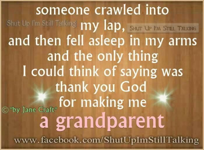 Oh, yes, I remember those days when they were little enough to fall asleep in my arms.  One of the best feelings in life!