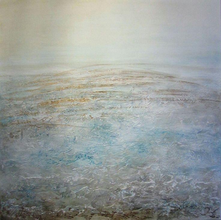 Obrazy olejne Sylwia Michalska, obrazy akryl na płótnie, obrazy strukturalne, pejzaż abstrakcyjny www.artpracownia.wordpress.com