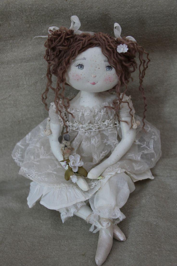 Amandine...inspirée ..oui mais par quoi...?! (35 cm) - Le Jardin des Farfalous ♡ lovely doll