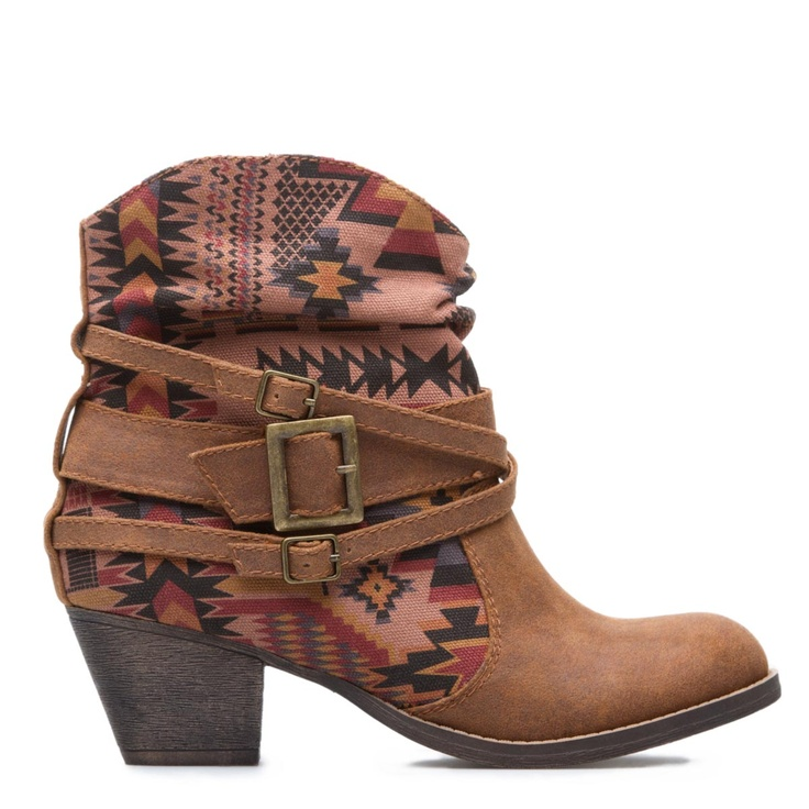 A More Modern Western Ankle Boot