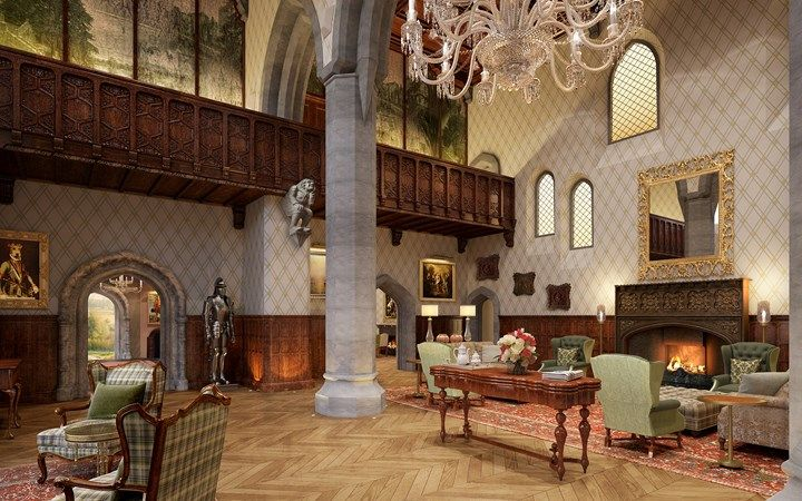 Enjoy gracious hospitality at Adare Manor Hotel and Golf Resort located in Adare, Ireland that meets the expectations of the most discerning guests.
