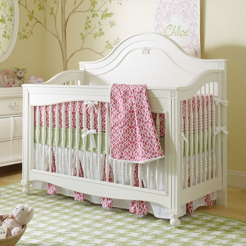 Mix and Match Built to Grow Convertible Decorative Crib from PoshTots
