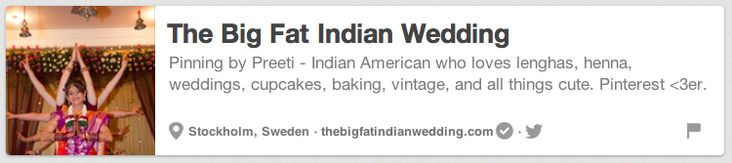 The Big Fat Indian Wedding | The 25 Best Pinterest Accounts To Follow When Planning Your Wedding