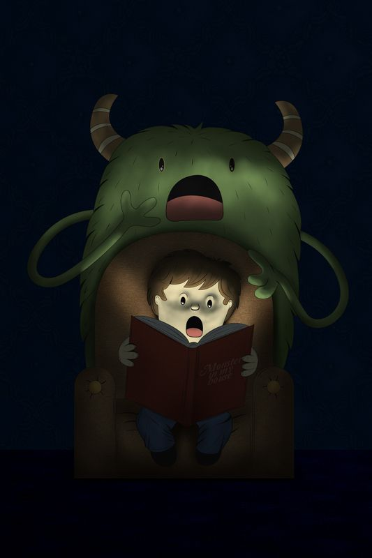 MONSTERS AND KIDS by OSCAR OSPINA, via Behance