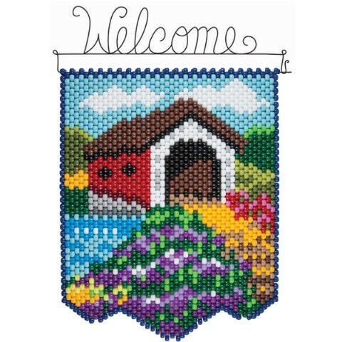 Herrschners® Summer Bridge Beaded Banner Kit Was: $23.99                     Now: $19.99