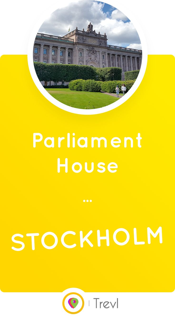 Discover the monumental House of the Swedish Parliament (Riksdag) in Central Stockholm