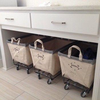 キッチン収納なんかにもパントリー代わりに使えます。