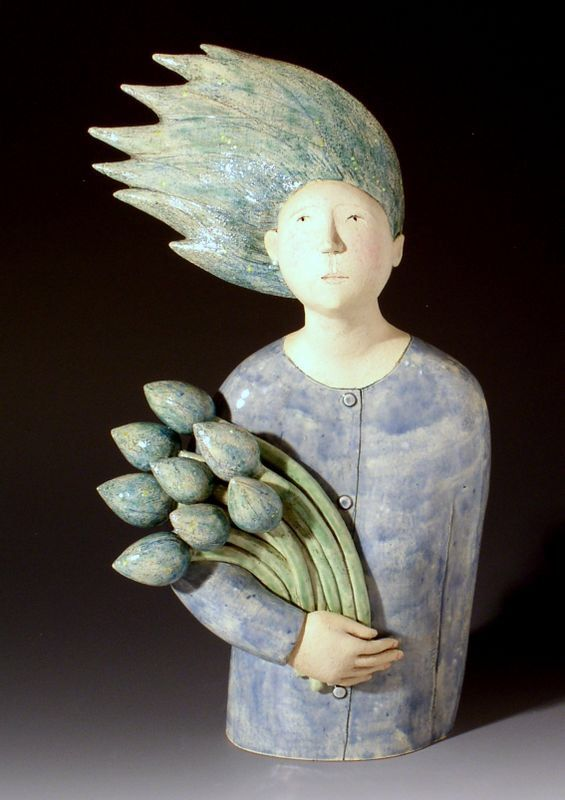 """North Wind"" (2005) - Ceramic Sculpture by Elizabeth Price"
