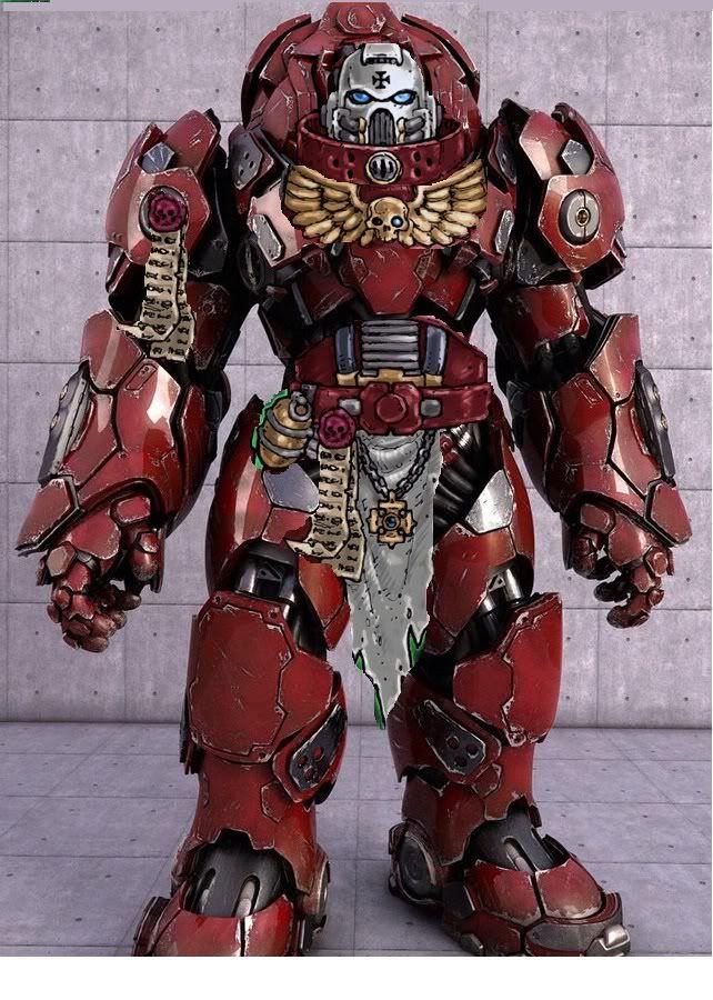 Space Marine Armor Concept                                                                                                                                                      More