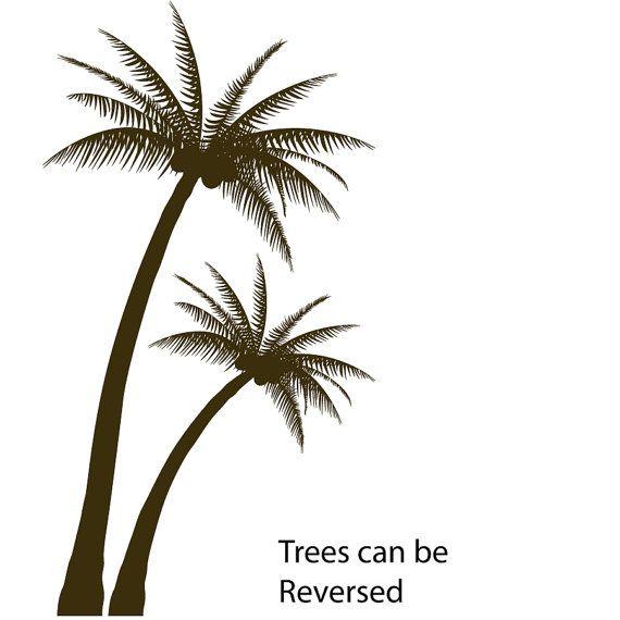Tropische Palm Tree voor woonkamer slaapkamer of kinderkamer